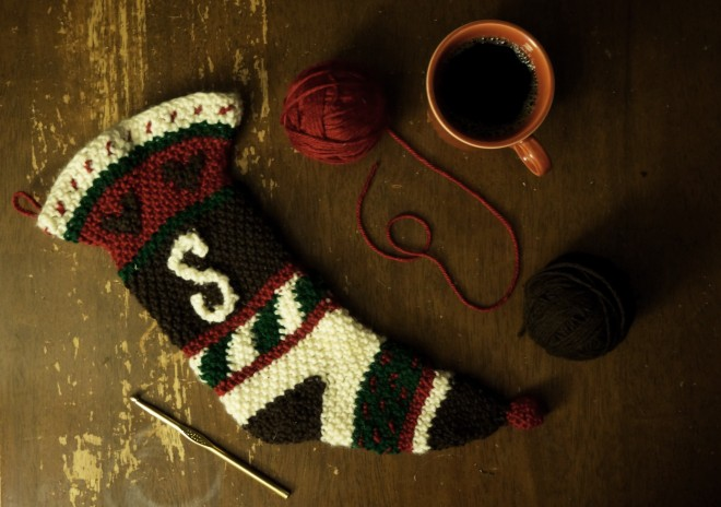 The Christmas Stocking and Self-Gratitude