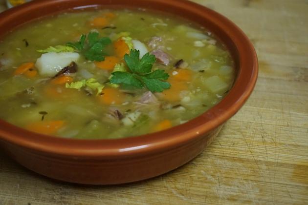 Comfort Food: Split Pea and Ham Soup